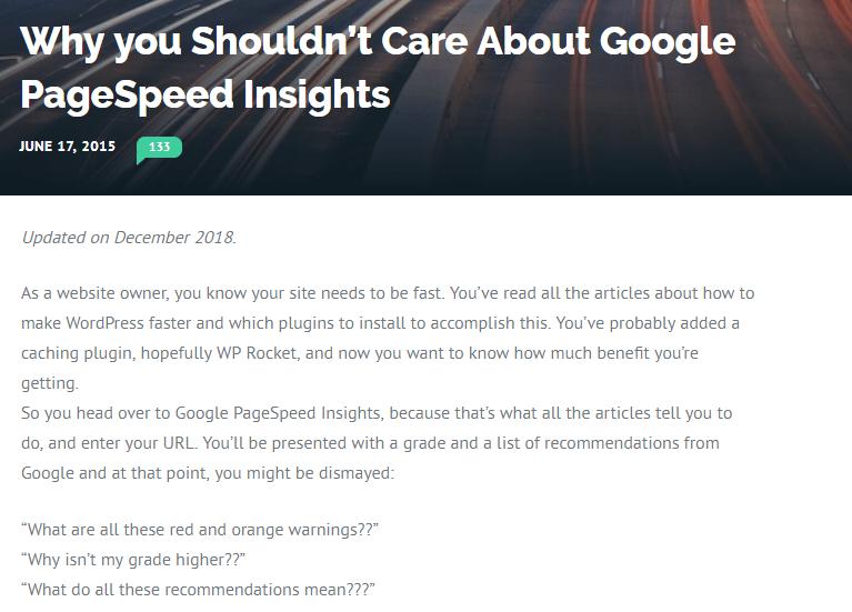 Mejorar en Google Page Speed