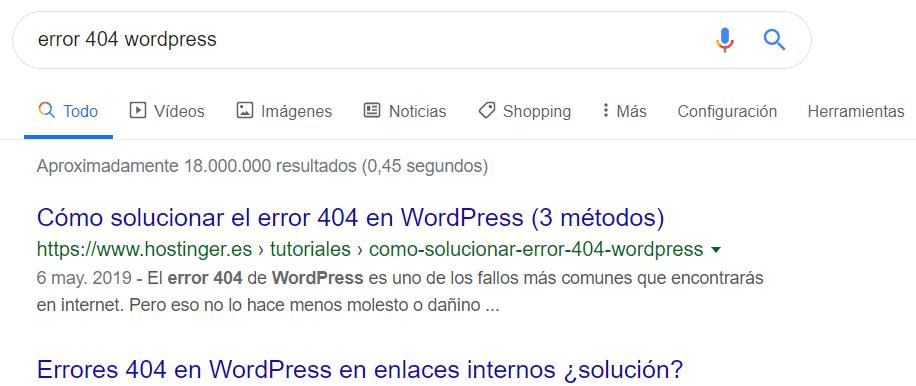 errorwordpress